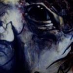 « Le Fou », encres, 20x50 cm