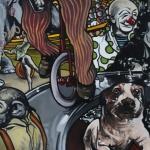 « Le Spectacle », huile sur toile, 80x100 cm (vendu)