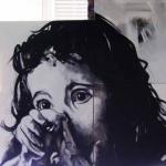 « Lili », huile sur toile, 80x110 cm