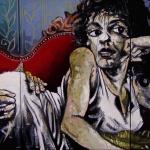 « Lubricité », huile sur toile, 70x150 cm (vendu)