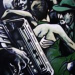 « Tango Verde », acrylique sur toile, 60x80 cm