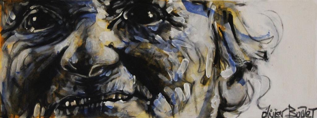 « Essai... », encres, 20x50 cm