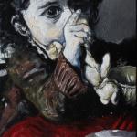 « Lili », huile sur toile, 50x70 cm
