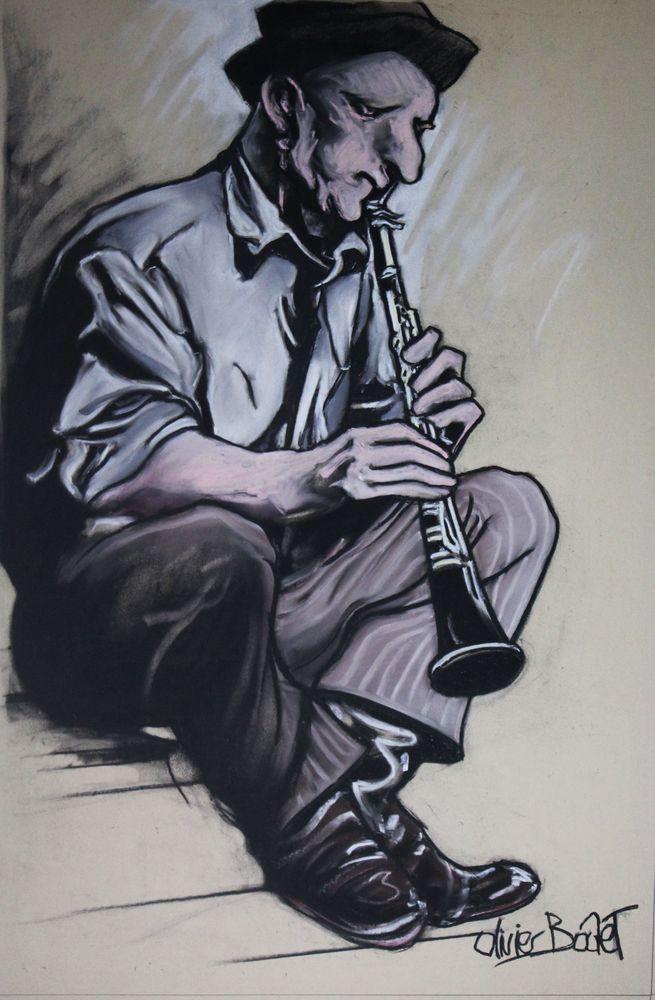 « Jaap », pastel sec, 75x65 cm