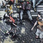 « Le Rayon de Soleil », huile sur toile, 60x80 cm