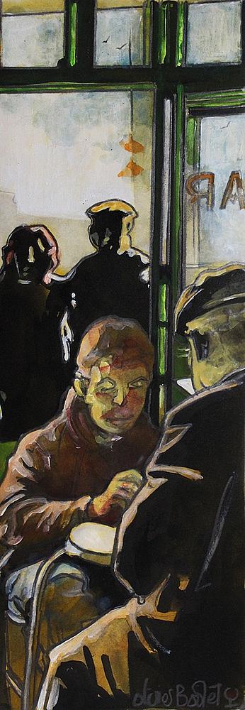 « Les Ombres », encres, 20x50 cm