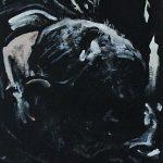« Mauvaise Journée », huile sur bois, 33x100 cm