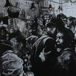 « Musette Fever », acrylique sur toile, 100x80 cm
