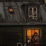 « Sonate au Clair de Lune », huile sur toile, 50x70 cm (vendu)