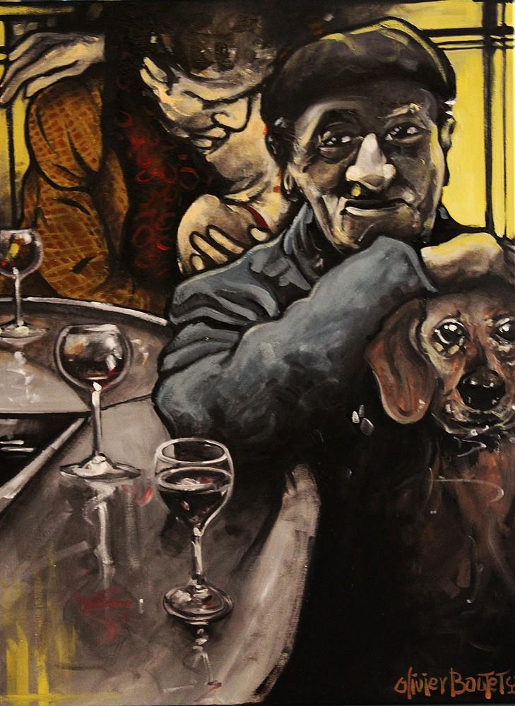 « Souviens-toi », huile sur toile, 60x80 cm